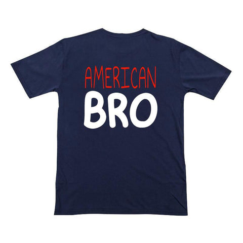 American Bro Shirt Navy Blue
