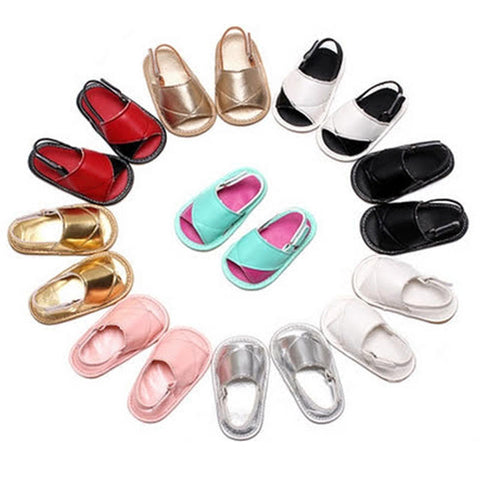 Baby Leather Strap Sandals