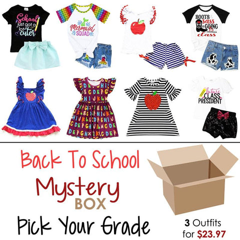 Back To School Mystery Box 3 Outfits