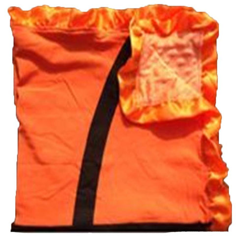 Basketball Orange Minky Blanket