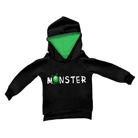 Black Green Monster Hoodie