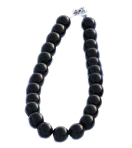 Black Pearl Gumball Necklace