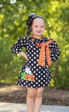 Black Polka BOO Dress