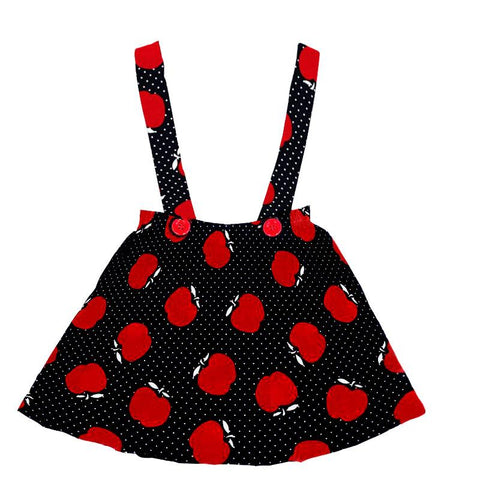 Black Red Apple Jumper Polka Dot