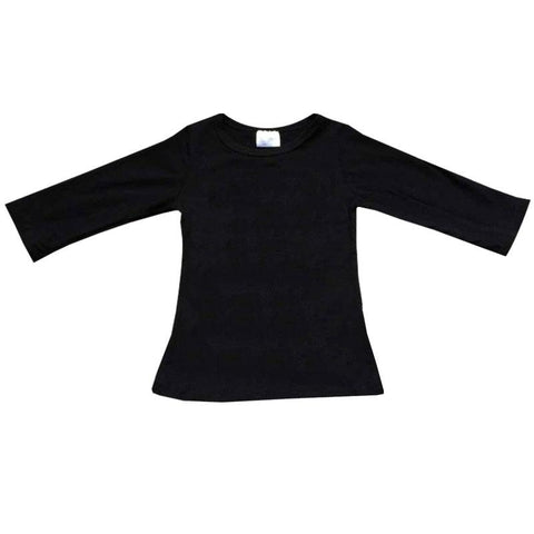 Black Shirt Long Sleeve