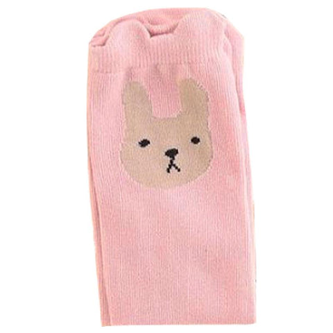 Blush Bunny Knee High Socks