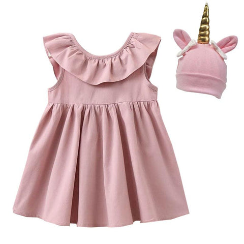 Blush Ruffle Dress Doll And Me