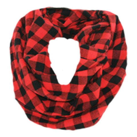 Buffalo Checkered Plaid Scarf