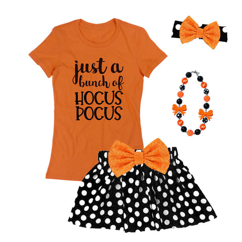 Bunch Of Hocus Pocus Shirt Orange Black