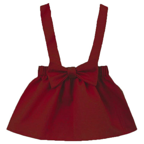 Burgandy Jumper Bow
