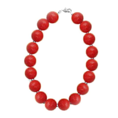 Cherry Red Necklace