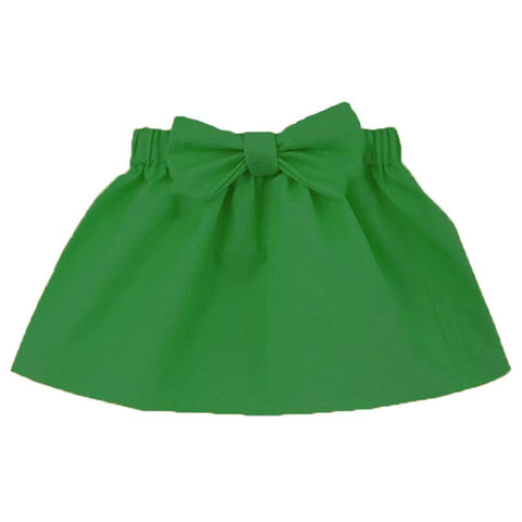 Christmas Green Skirt Bow