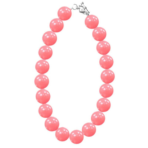 Coral Necklace Chunky Gumball