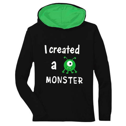 Created A Monster Mommy Hoodie