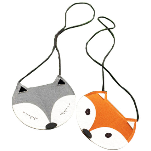 Curious Fox Purse Shoulder Bag