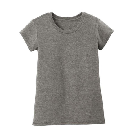 Dark Heather Gray Shirt Girl