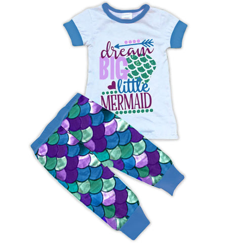 Dream Big Little Mermaid Pajamas
