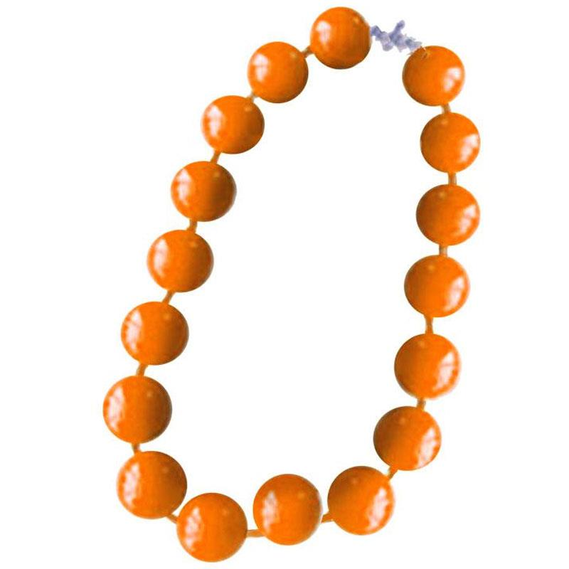 Fall Orange Necklace