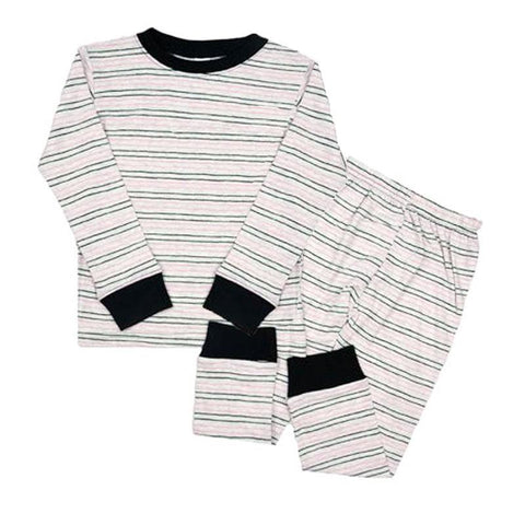 Fall Stripe Pajamas