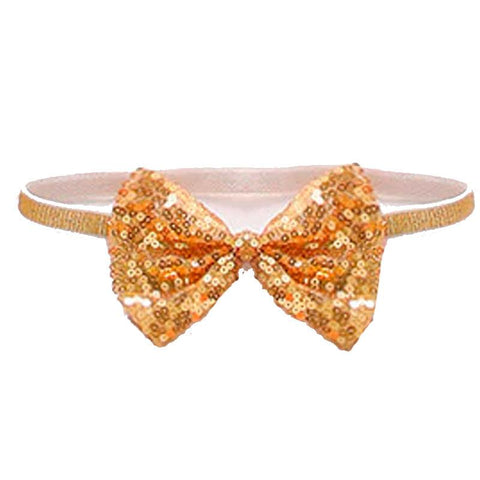 Gold Sequin Baby Headband Sparkle