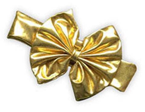 Gold Messy Bow Headband