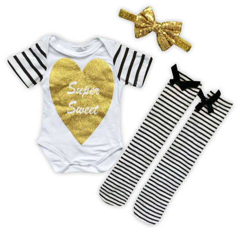 Gold Super Sweet Onesie