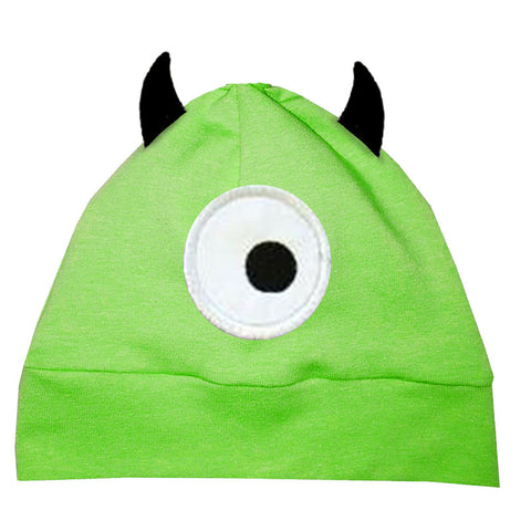 Green Monster Beenie Hat
