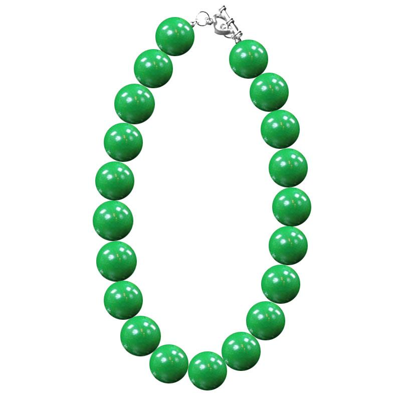 Green Necklace Gumball Chunky