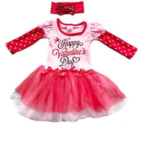Happy Valentines Day Tutu Dress