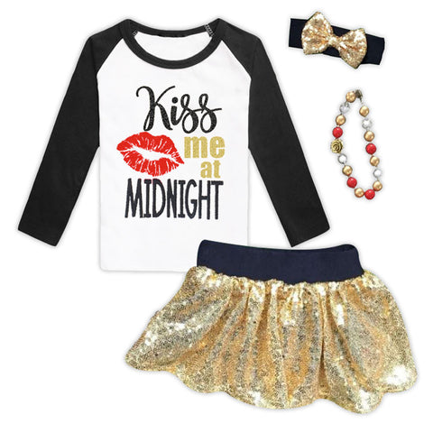 Kiss Me At Midnight Reglan Top And Skirt