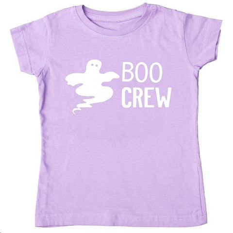 Lavender Boo Crew Shirt Ghost Mommy And Me