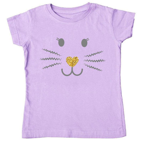 Lavender Bunny Whiskers Shirt