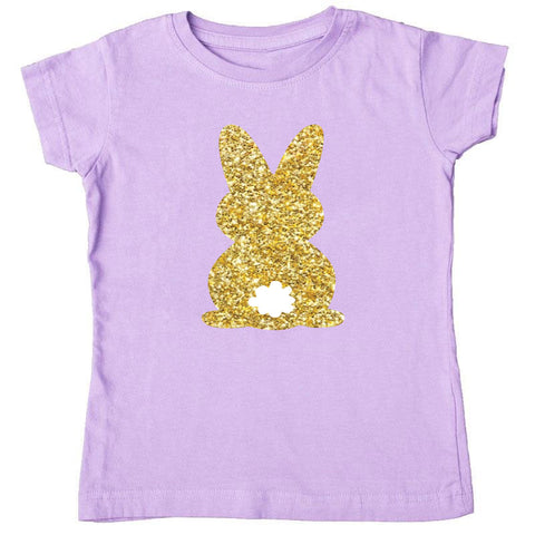 Lavender Gold Cottontail Shirt Mommy Me
