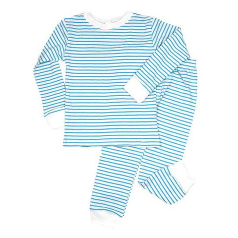 Light Blue Stripe Pajamas