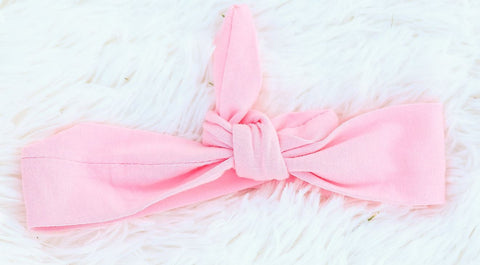 Light Pink Head Wrap Headband