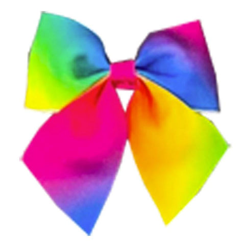 Magical Rainbow Knot Hair Bow