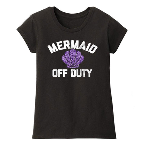 Mermaid Off Duty Shirt Mommy Me