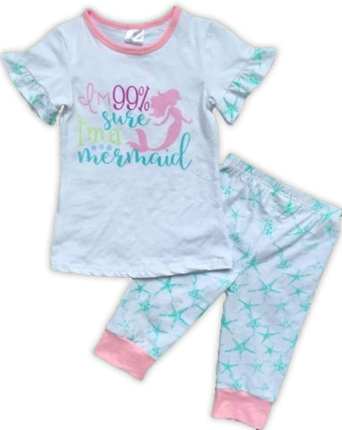 Mermaid Starfish Pajamas Set