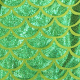 Mermaid Tail Minky Blanket Green Sparkle Blue
