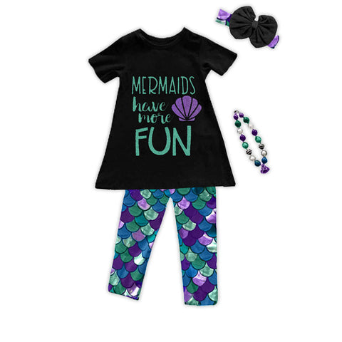 Mermaids Have More Fun Top And Capri
