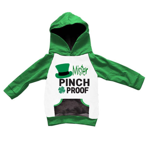 Mister Pinch Proof Hoodie Green Black