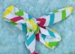 Multi Color Chevron Head Wrap