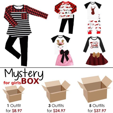 Mystery Box Outfits For Girls