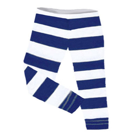 Navy Stripe Capri Mommy Me