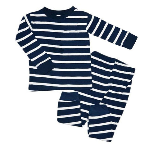 Navy Stripe Pajamas