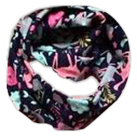 Navy Unicorn Pink Scarf