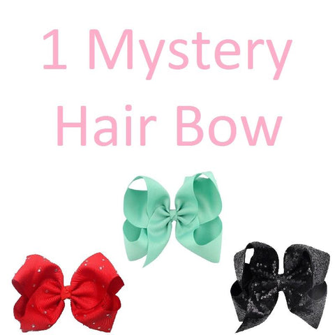 One Mystery Hair Bow