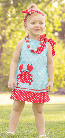 Out To Sea Crab Dress