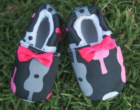 Guitar Baby Shoes