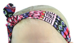 Pink Diamond Aztec Head Wrap